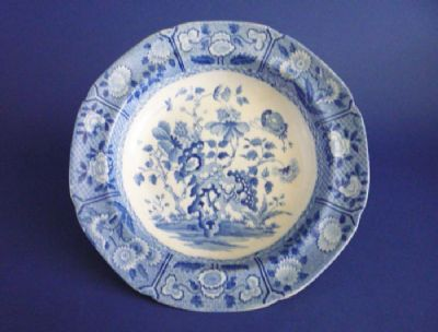 Fine Spode 'India' Pattern Soup Plate c1820 (Sold)